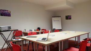 La salle de formation du Centre Allaitement Véronique Darmangeat. Location à la journée et à l'heure.