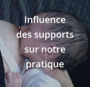 Influence des supports d'information sur notre pratique (vidéos, médias sociaux, livres,...). Une formation du centre allaitement Véronique Darmangeat