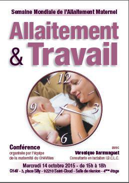 conférence allaitement